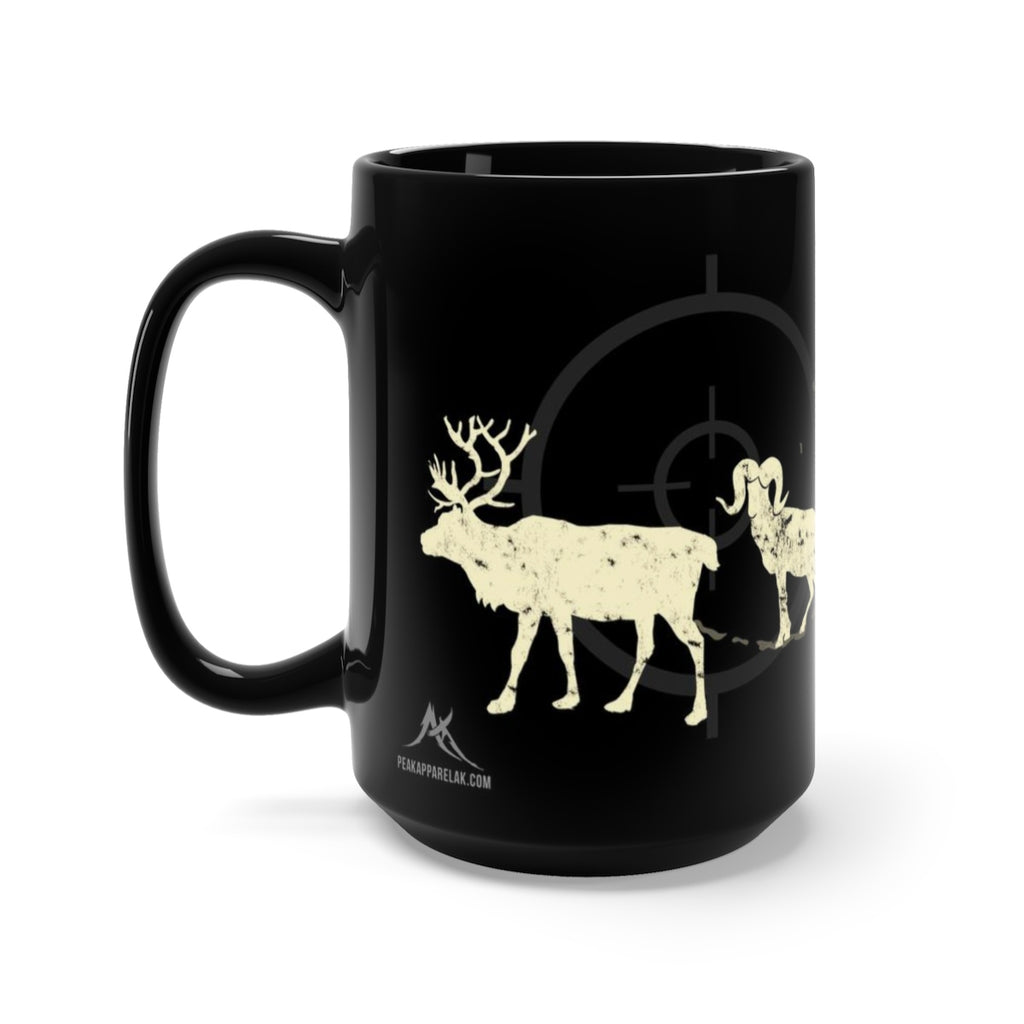 Four Seasons Mug - Black 15oz.