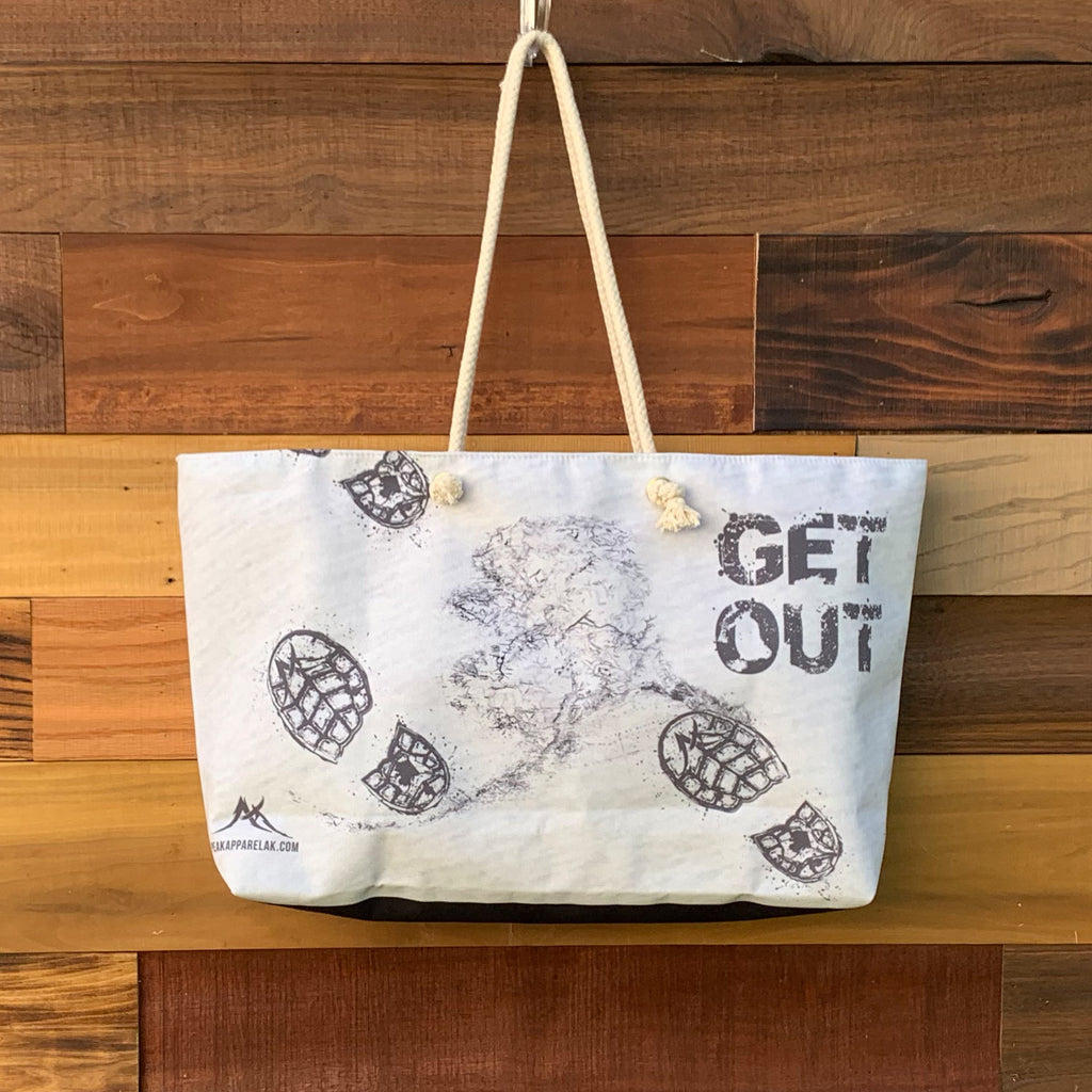 Get Out Weekender Bag