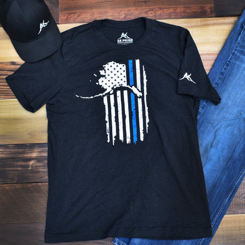Alaskan Patriot Police Support Shirt