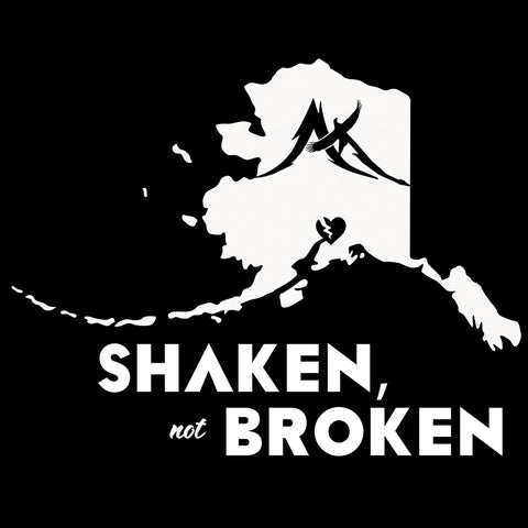 Shaken Not Broken Decal