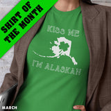 Kiss Me I'm Alaskan Men's Tee