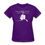 All Things Alaska Women's Tee - purple