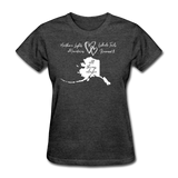 All Things Alaska Women's Tee - heather black