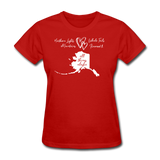 All Things Alaska Women's Tee - red
