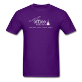 Christian Office Addicts #1 Unisex Tee - purple