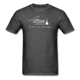 Christian Office Addicts #1 Unisex Tee - heather black