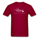Christian Office Addicts #1 Unisex Tee - dark red