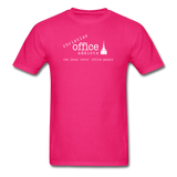 Christian Office Addicts #1 Unisex Tee - fuchsia