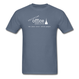 Christian Office Addicts #1 Unisex Tee - denim