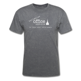 Christian Office Addicts #1 Unisex Tee - mineral charcoal gray