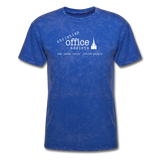 Christian Office Addicts #1 Unisex Tee - mineral royal