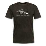 Christian Office Addicts #1 Unisex Tee - mineral black