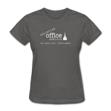 Christian Office Addicts #1 Women's Tee - charcoal