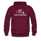 Christian Office Addicts #2 Hoodie - burgundy