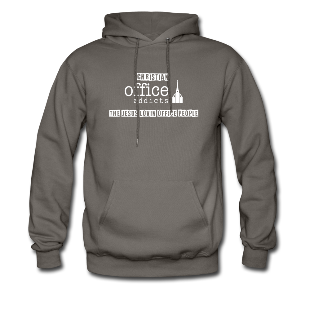 Christian Office Addicts #2 Hoodie - asphalt gray