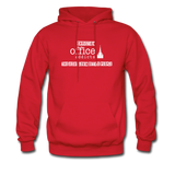 Christian Office Addicts #2 Hoodie - red