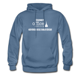 Christian Office Addicts #2 Hoodie - denim blue