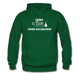 Christian Office Addicts #2 Hoodie - forest green