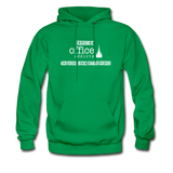 Christian Office Addicts #2 Hoodie - kelly green