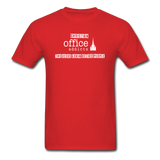 Christian Office Addicts #2 Unisex Tee - red