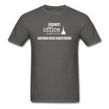 Christian Office Addicts #2 Unisex Tee - charcoal