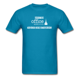 Christian Office Addicts #2 Unisex Tee - turquoise