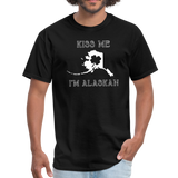 Kiss Me I'm Alaskan Men's Tee - black