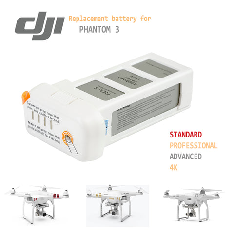 DJI Phantom 3 Replacement Battery - ExpertPower Direct