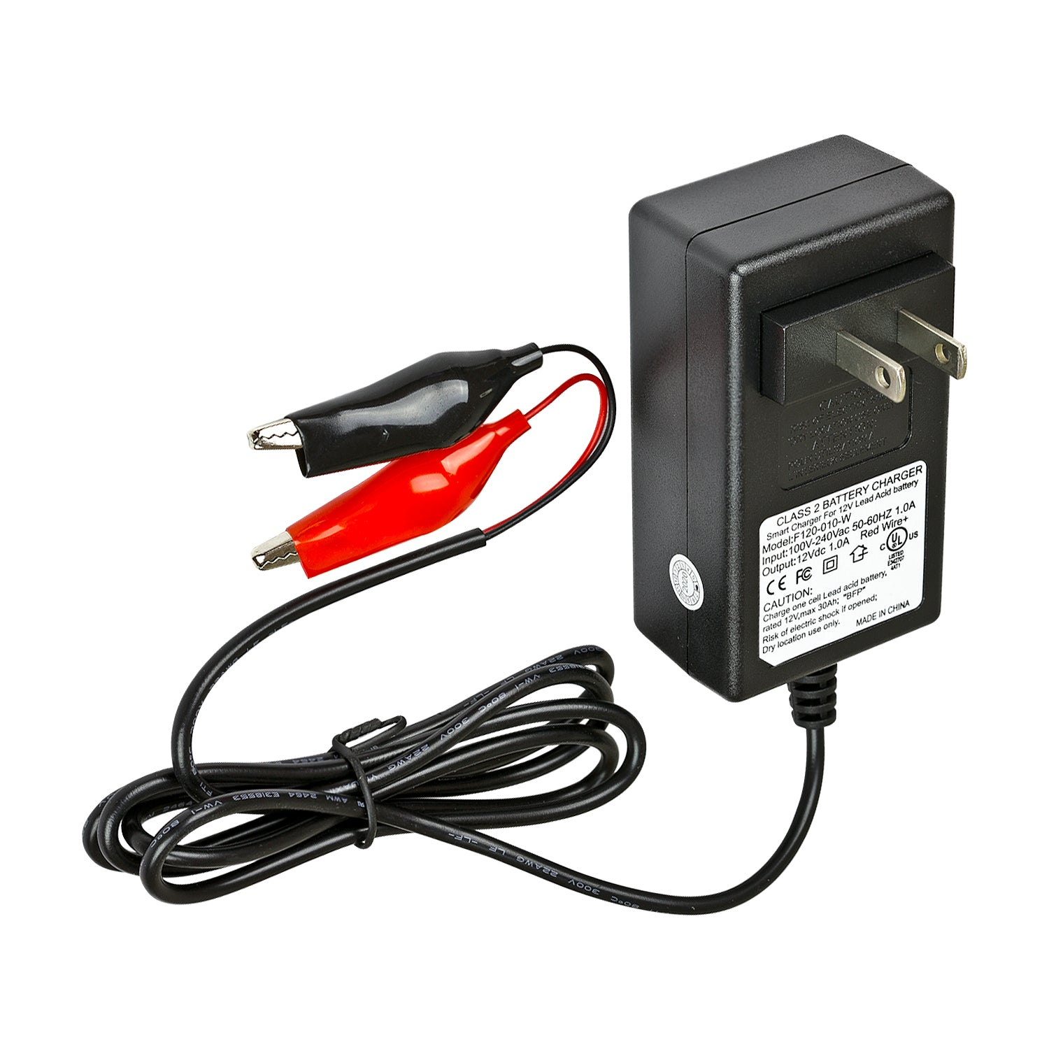 12 Volt 1 AmpH Battery Charger for Lead Acid Battery
