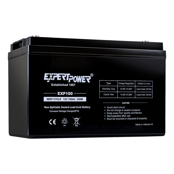 EXP121000  12V100AH DEEP CYCLE