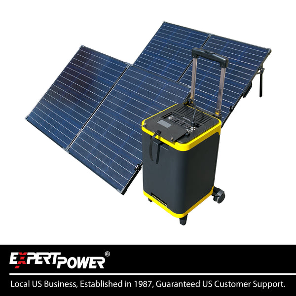 Alpha 1900 With Two 100W Solar Panel