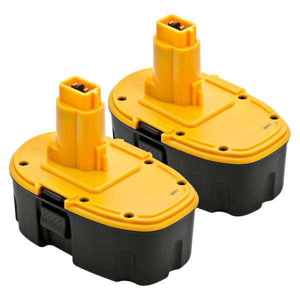 2 X DeWalt DC9096 / DW9095 / DW9096 - 18V Replacement Battery