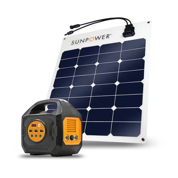 S200 + 50W SunPower Solar Panel Combo Kit