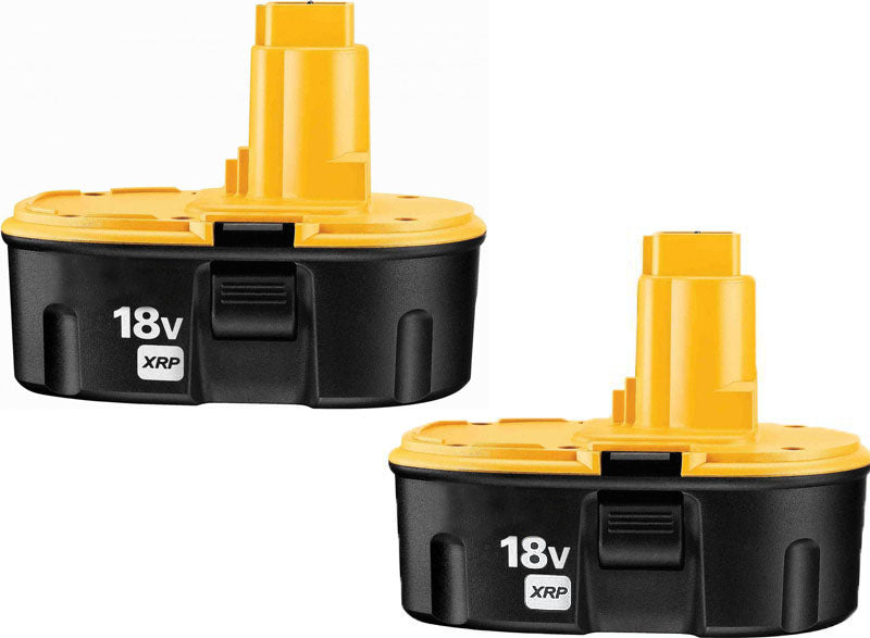 2 X DeWalt DC9096 / DW9095 / DW9096 - 18V Replacement Battery - ExpertPower Direct