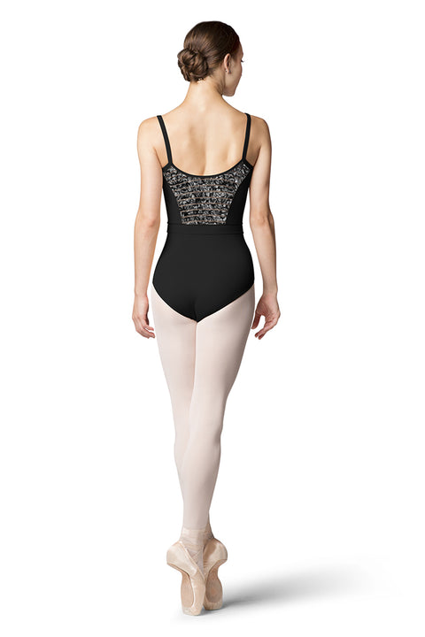 BLOCH L9817 ADELA WOMEN CAMISOLE W/WAIST BAND LEOTARD