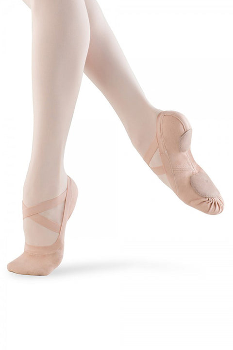 BLOCH S0625L WOMEN SYNCHRONY STRETCH CANVAS BALLET SHOE