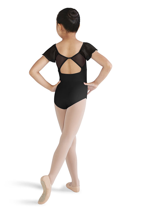 MIRELLA M1507C GIRLS FLUTTER SLEEVE LEOTARD