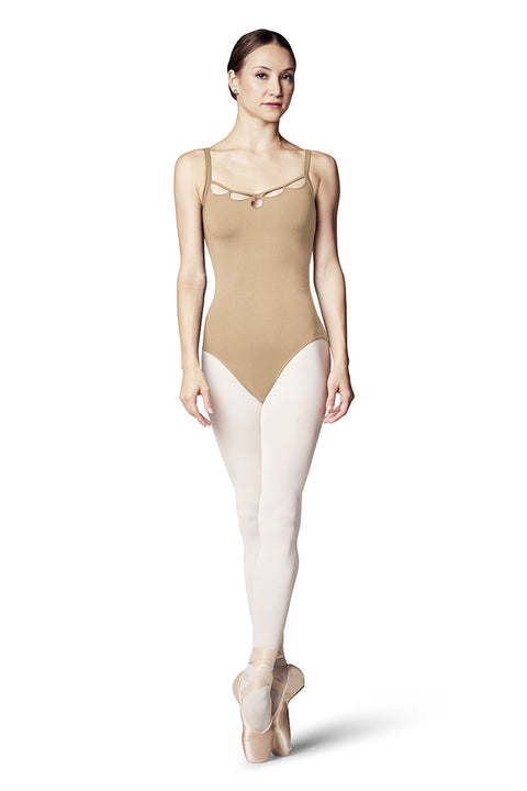 BLOCH L9807 WOMEN MESH BACK CAMISOLE LEOTARD