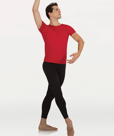 BODY WRAPPERS M197 MENS PROWEAR PROFESSIONAL 3/4 CROP DANCE PANT