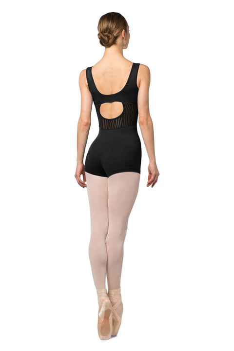 BLOCH U4865 SANTSIA WOMENS TANK SHORT UNITARD