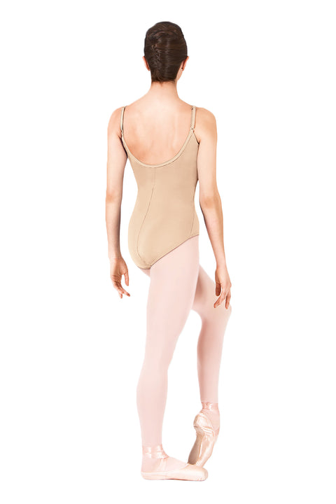 CAPEZIO TB1420 CAMISOLE WITH ADJUSTABLE STRAPS LEOTARD