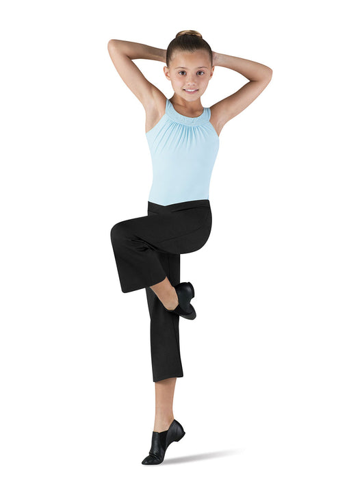 BLOCH CP1603 V-FRONT WIDE CAPRI PANTS