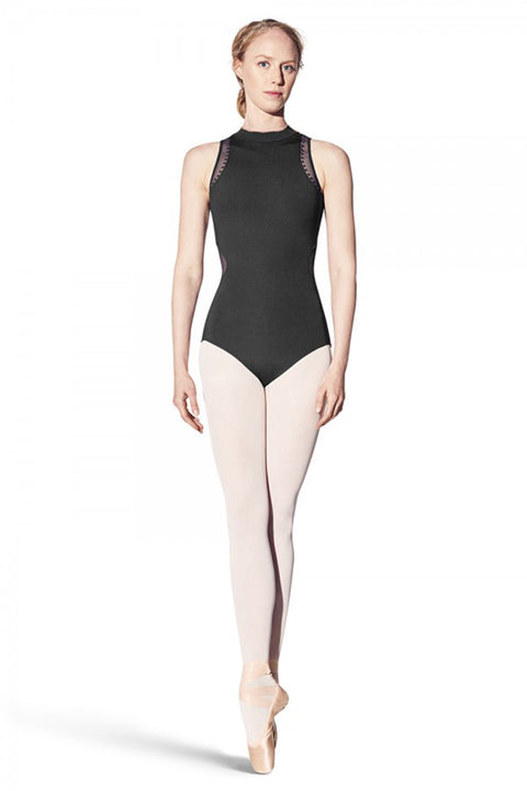 BLOCH L8940 WOMEN DIAN MOCK NECK TANK LEOTARD
