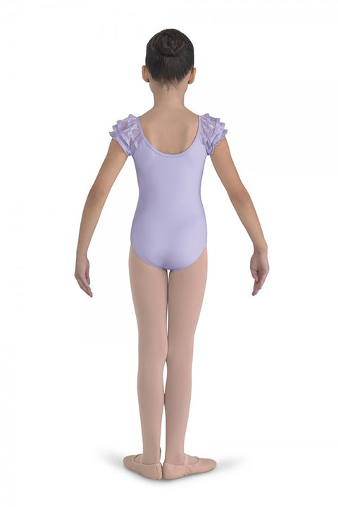 BLOCH CL7602 PUFF SLEEVE LEOTARD