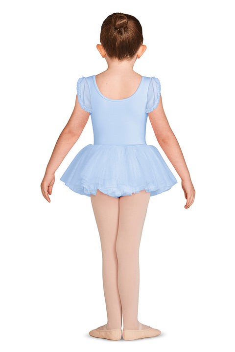 MIRELLA GIRLS TULIP CAP SLEEVE TUTU DRESS