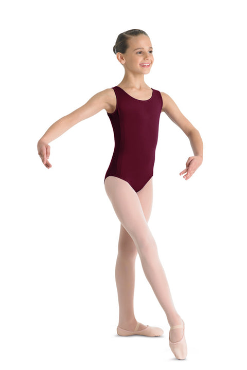 BLOCH CL5465 CHASSE GIRL'S CLASSIC TANK LEOTARD