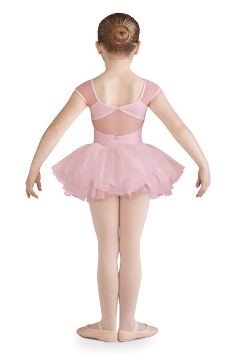 BLOCH CL9962 GIRLS CAP SLEEVE TUTU DRESS