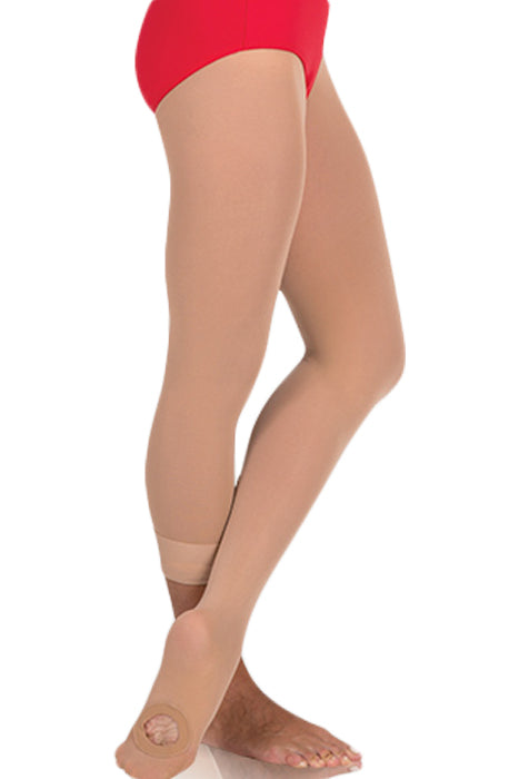 Body Wrappers A31 Women/'s Size Large//XLarge Ballet Pink Convertible Tights