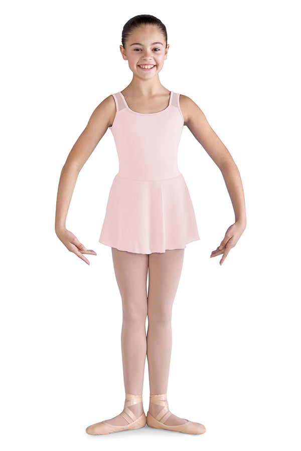 BLOCH CL9825 GIRLS SKIRTED TANK DRESS LEOTARD