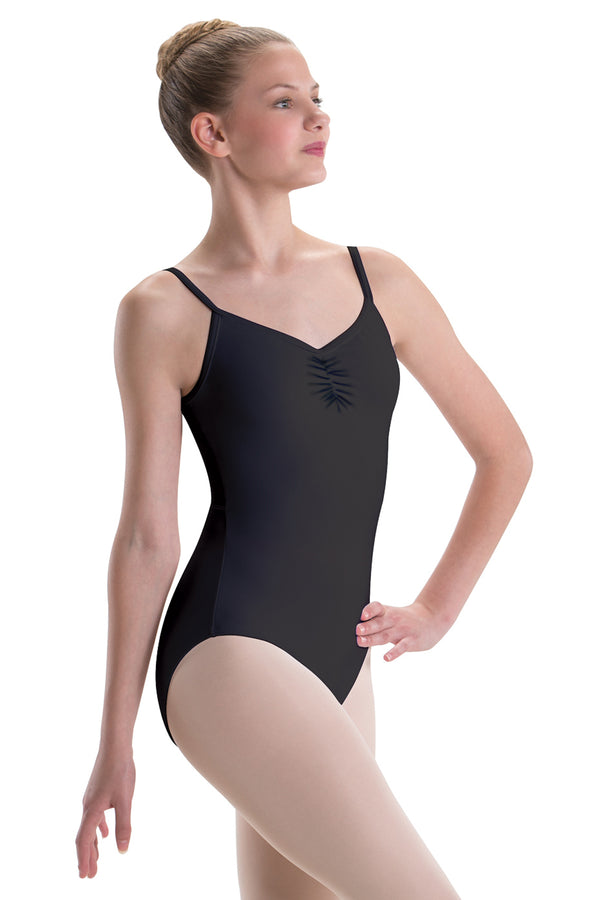 MOTIONWEAR 2530 WOMEN SILKSKIN BACK MESH CAMISOLE LEOTARDS